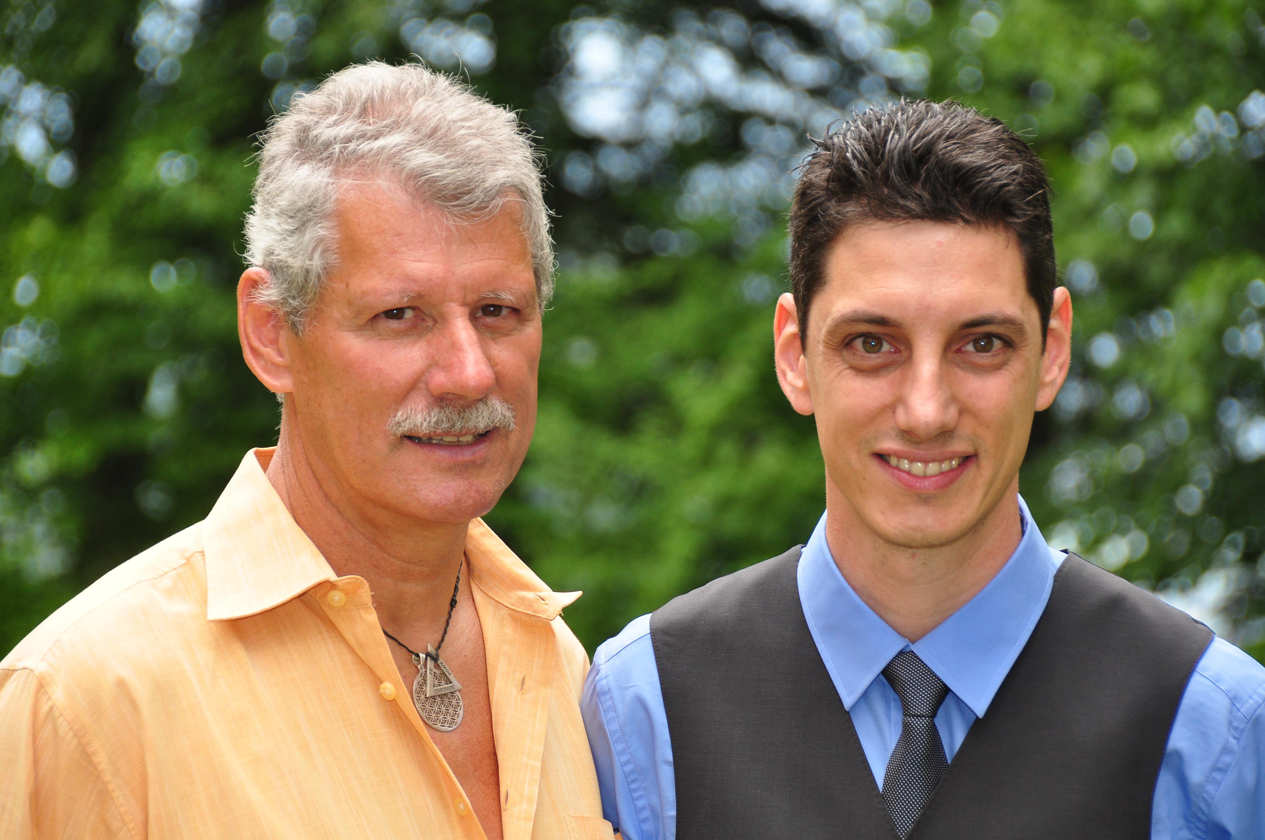 Paul und Markus Sandholzer
